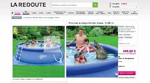 capture d'écran fail la redoute crocodile