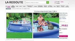 capture d'écran fail la redoute crocodile