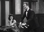 Jean dujardin et Zooey Deschanel - Saturday Night Live