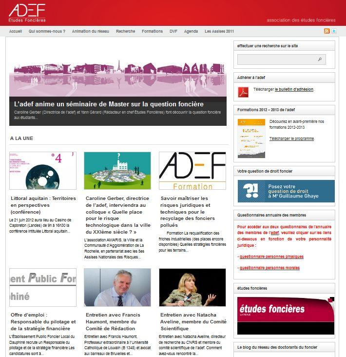 site de l'adef