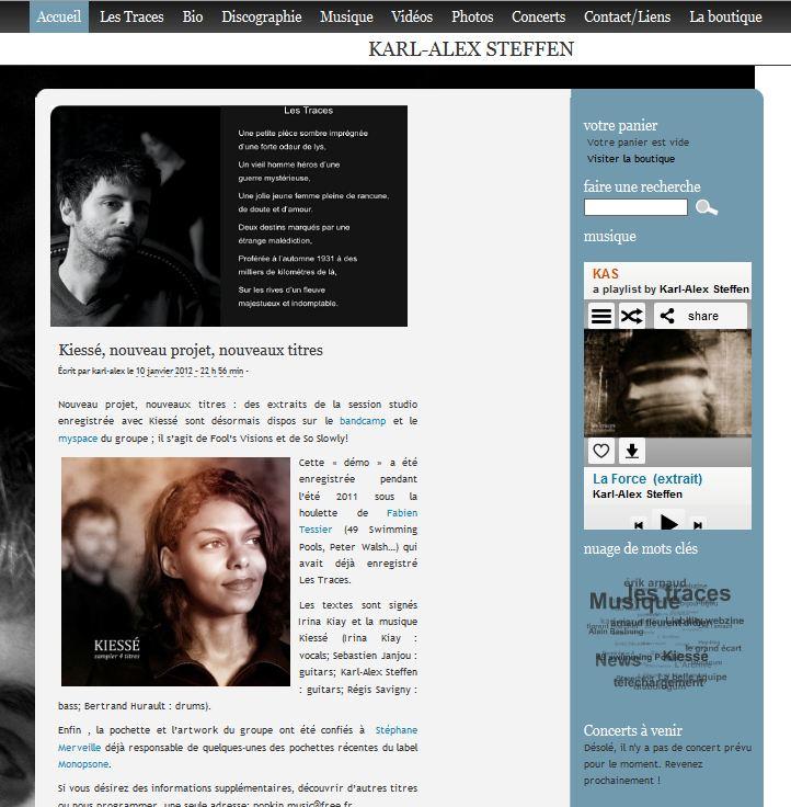 Site de Karl-Alex Steffen