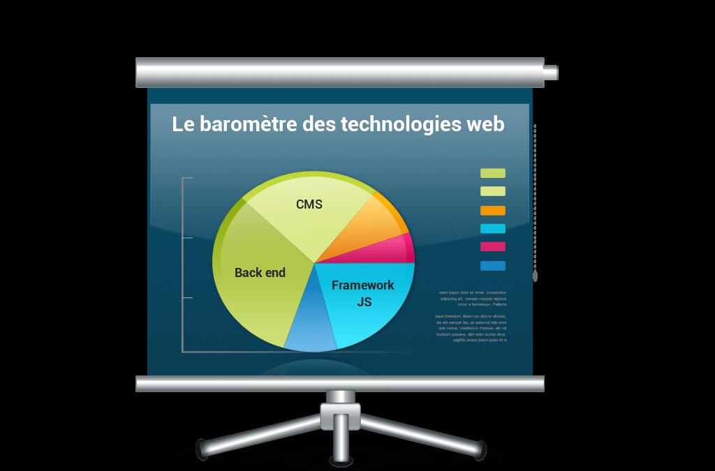 Diaporama : Le Baromètre des Technologies web