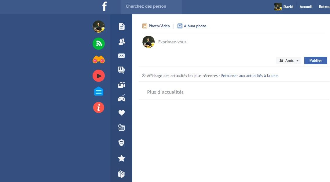 Flatbook : l'extension chrome qui enjolive Facebook
