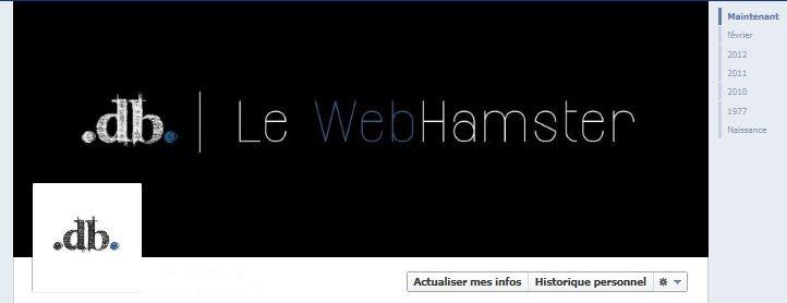 timeline du  webhamster