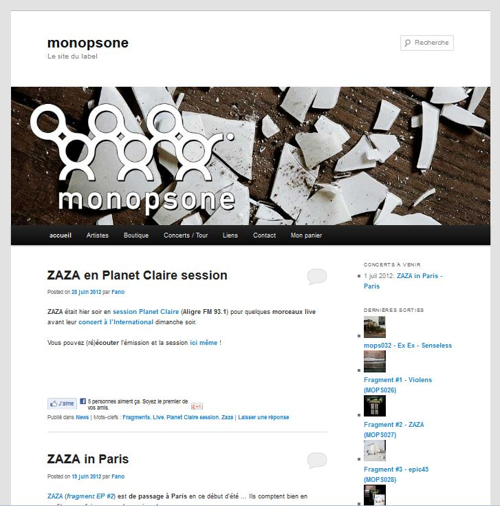 Site du label monopsone