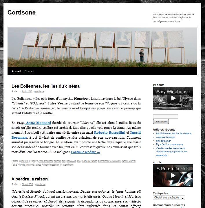 Site de Cortisone - Wiggle Your Big Toe