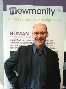 Victor Ferreira, fondateur de Newmanity