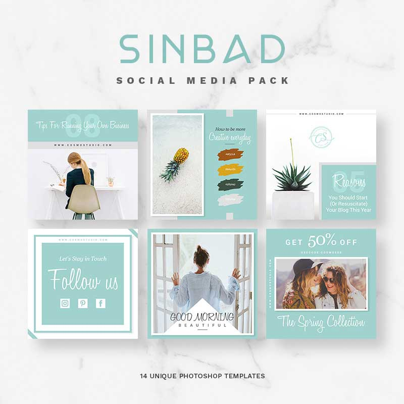 SINBAD Package pour médias sociaux