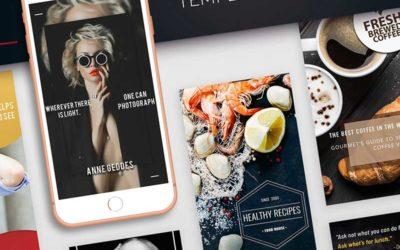 Idées de conception de médias sociaux pour se faire remarquer sur Instagram